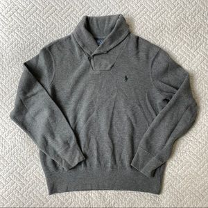 Polo Ralph Lauren Gray Cowl Neck Pullover